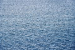 Abstract background with blue sea surface. For your design Royalty Free Stock Photos