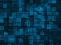 Abstract background -- blue square Royalty Free Stock Images