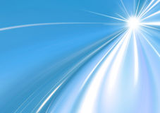 Abstract background blue star. Star blue abstract background with space for text Stock Photography