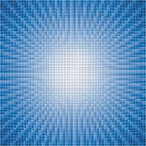 vector abstract background of blue star burst Stock Image