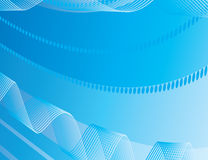 Abstract background of blue stripes Stock Photo