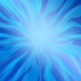 Abstract background with blue stripes. Concentric abstract background with blue stripes royalty free illustration