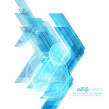 Abstract background with blue stripes. Corner. Concept new technology and dynamic motion. Digital Data Visualization. For cover book, brochure, flyer, poster Stock Photos