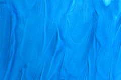 Abstract background blue surface of dried paint Royalty Free Stock Photos