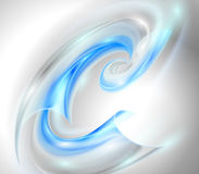 Abstract background with blue swirl Royalty Free Stock Photo