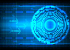 Abstract background blue technology Royalty Free Stock Image