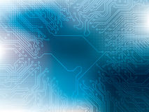 Abstract background blue technology. Vector illustration Royalty Free Stock Photo