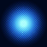 Abstract background blue technology, vector illustration Stock Image