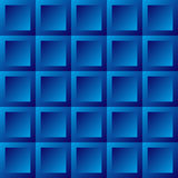 Abstract background blue tiles. Seamless pattern, vector illustration Royalty Free Stock Photo