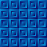 Abstract background blue tiles. Seamless pattern, vector illustration Stock Photo