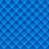 Abstract background blue tiles. The square tiles abstract background, blue gradient. Seamless pattern, vector illustration Stock Image