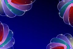 abstract background blue tones Στοκ Εικόνες