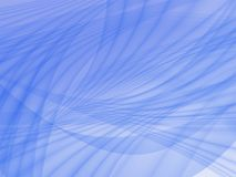 Abstract background in blue tones. Abstract background in blue-blue colors. Crossed smooth lines stock illustration