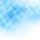 Abstract background with blue transparent rhombus Royalty Free Stock Photos