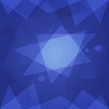 Abstract Background with Blue Triangles. Vector Illustration, Abstract Background with Blue Triangles, Format EPS 10 Stock Image