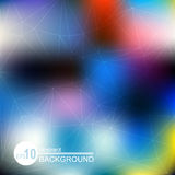 Abstract background-03. Abstract blue vector mesh background with mosaic pattern. Design element for banners or wallpapers stock illustration