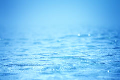 Abstract background from blue water wave Stock Image