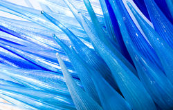 Abstract background - blue wave. Abstract background - glass blue wave Royalty Free Stock Photo