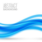 Abstract background with blue wave. Abstract background with blue elements royalty free illustration