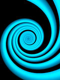 Abstract background-Blue waves. 3d design Royalty Free Stock Photo