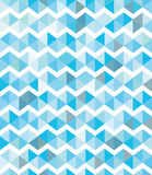 Abstract background. Blue and white chevron seamless pattern. Vector background Stock Image