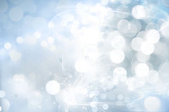 Abstract background. Abstract blue and white circles background Stock Photo