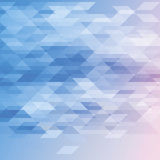 Abstract background in blue and white tones. Diamonds and triangles Royalty Free Stock Photo