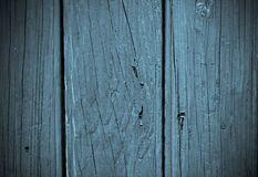 Abstract background - blue wood Stock Photo