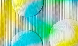 Abstract background. Blue and yellow abstract background vector illustration