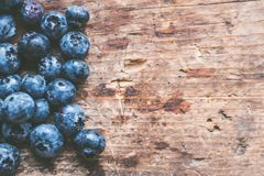 Abstract, Background, Blueberries, Close-up Stock Images