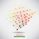 Abstract background with blur dots and lines on theme digital Stock Photos