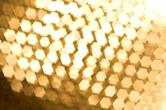 abstract background blur gold Στοκ Φωτογραφίες