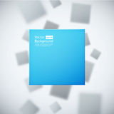 Abstract background with blured squares Royalty Free Stock Photography