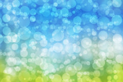 Abstract background blurred bokeh circles Royalty Free Stock Images