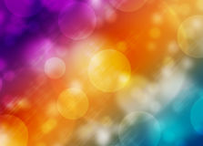 Abstract Colorful background bokeh light pattern Royalty Free Stock Photography