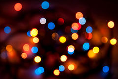 Abstract background - blurred colorful circles bok Stock Photos