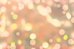 Abstract background with Blurred festive surrealism. Lighting effects tinting glare Royalty Free Stock Photography