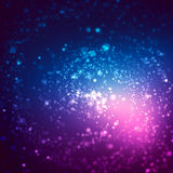 Abstract background with blurred glitter color bokeh lights. Abstract background with spiral blurred glitter color bokeh lights Royalty Free Stock Photo