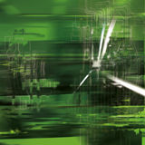 Abstract background with blurred green Stock Photos