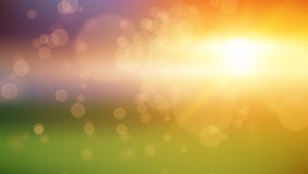 Abstract Background - Blurred Image - Sunset. Abstract Background - Bokeh Blurred Image - Sunset. Vector EPS10 vector illustration