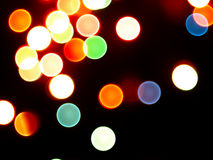 Abstract background with blurred lights. Royalty Free Stock Image