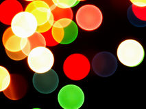 Abstract background with blurred lights. Royalty Free Stock Photo