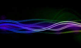 Abstract background with blurred  neon light Royalty Free Stock Photos