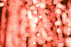 Abstract Background of blurred red lights Royalty Free Stock Photo