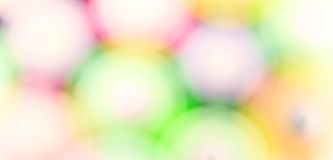 Abstract background of blurry colored  spots Stock Images