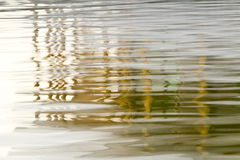 Abstract background of blurry column reflection in the water Royalty Free Stock Photo