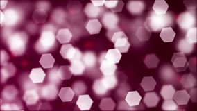 Background of blurry hexagonal bokeh. Abstract Background with blurry hexagonal bokeh Stock Photo
