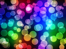 Abstract background - blurry lights Stock Image
