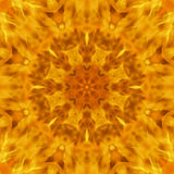 Abstract background blurry the motion of flame raged mandala. Pattern, power and blazing fire Stock Image