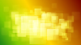 Abstract background of blurry squares. In orange, green and yellow colors vector illustration